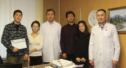 Лучшим студенческим научным кружком КГМА признан СНК «Факультетской хирургии»