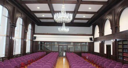 Актовый зал КГМА после ремонта