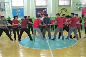 В Медакадемии провели мастер-класс по народным играм