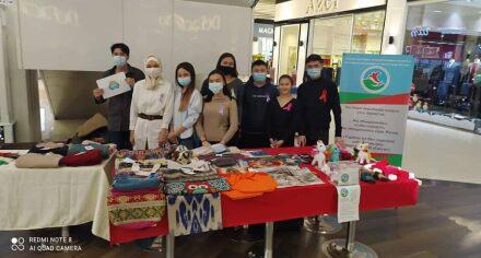Студенты КГМА провели благотворительную ярмарку
