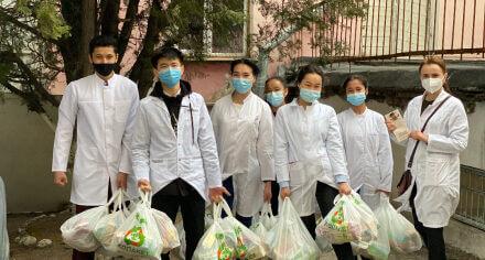 Студенты КГМА им. И.Ахунбаева вносят свой вклад в борьбу с туберкулезом