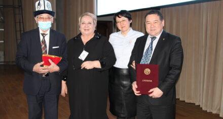 На очередном заседании Ученого совета КГМА состоялось торжественное вручение
