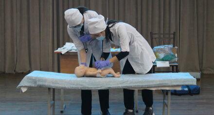 В Медакадемии прошла первая межвузовская олимпиада по акушерству и гинекологии