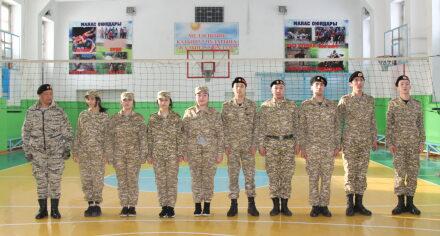 В КГМа провели день Ак калпака (военная кафедра)