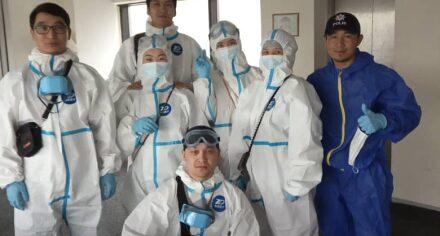 Молодые специалисты КГМА продолжают работать на передней линии борьбы с коронавирусной инфекцией
