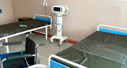 КГМА вновь открыла инфекционное отделение для лечения больных с kорона вирусной инфекцией