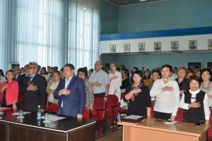 В Медакадемии прошёл вечер, посвященный празднику государственного языка
