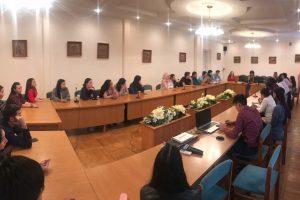 Проректор КГМА Гульмира Джумалиева встретилась с активистами студенческого совета