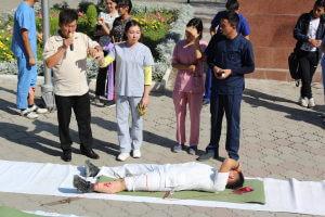 В КГМА состоялось мероприятие, посвященное Всемирному дню оказания ПМП