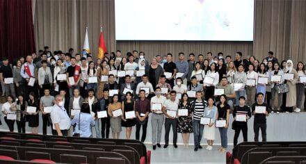 В КГМА награждены лица, принимавшие участие в борьбе с КОВИД-19