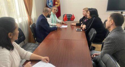 В КГМА прибыла делегация из университета Турции