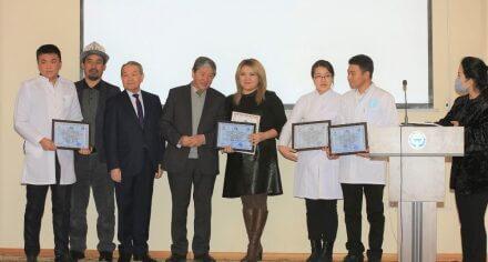 Группа студентов  КГМА заняли третье место на конкурсе «Тилим менен улутмун»