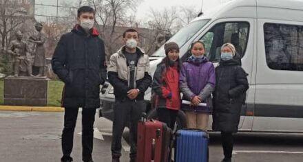 На помощь врачам санатория им.Ибн-Сина в борьбе с коронавирусом отправились ординаторы КГМА