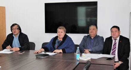 Ректор КГМА провела совещание в онлайн режиме с ординаторами, участвующими в борьбе с пандемией