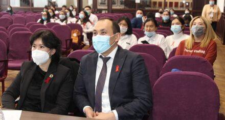 В КГМА состоялась конференция, посвященная Всемирному дню борьбы со СПИДом